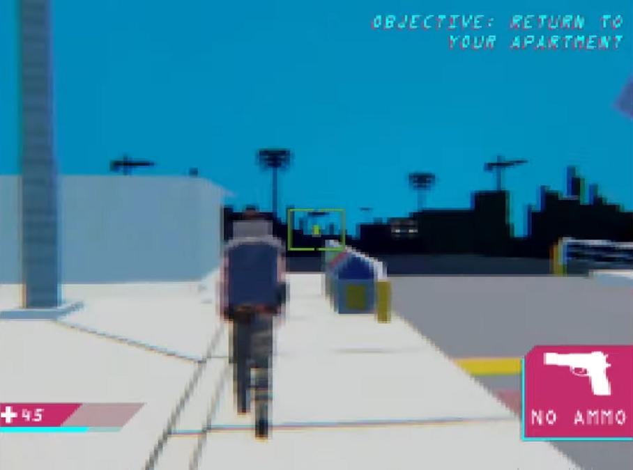 Блоггер показал, как выглядел бы Cyberpunk 2077 на Sony PlayStation 1