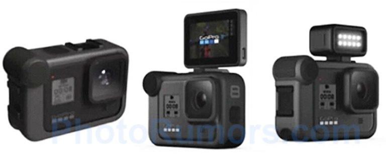 Некоторые подробности о готовящихся к выходу камерах GoPro Hero 8