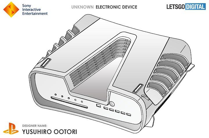 Sony запатентовала неизвестное устройство. Возможно это прообраз консоли нового поколения