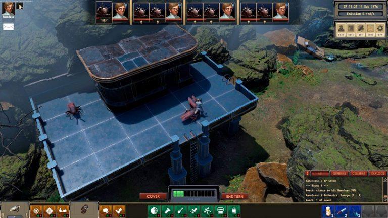 В раннем доступе в Steam появилась РПГ Encased от русской студии Dark Crystal Games