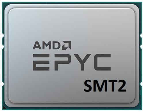 AMD готовит логическое деление ядра EPYC на 4 потока