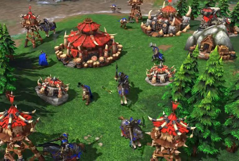 Бета-версию переиздания WarCraft 3 успели взломать