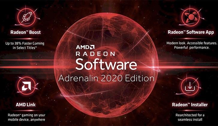 AMD выпустила принципиально новый видеодрайвер Adrenalin 2020