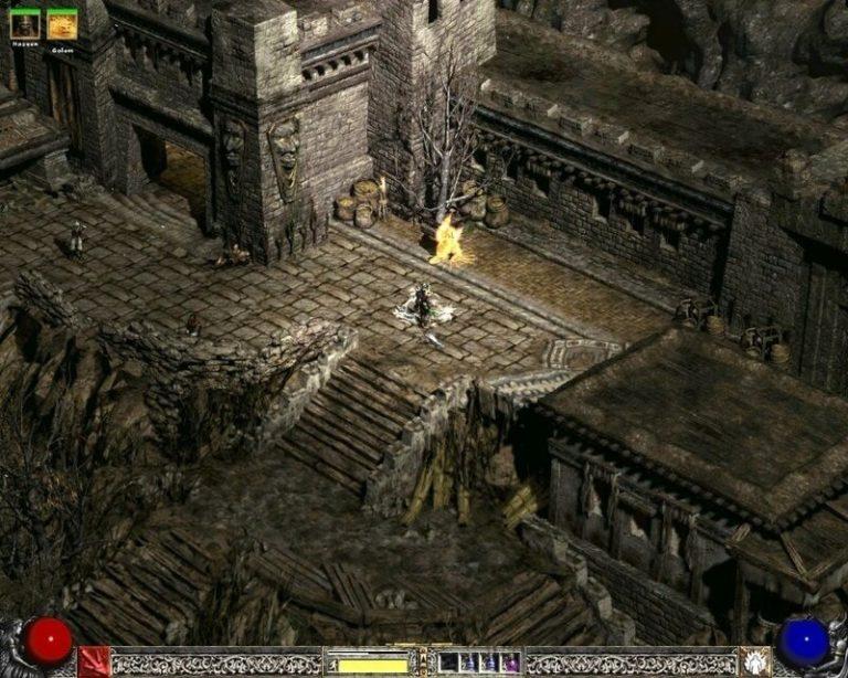 Моддер улучшает графику Diablo 2 с помощью нейросети
