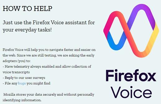 Разработчики браузера FireFox начали тестировать голосовое управление