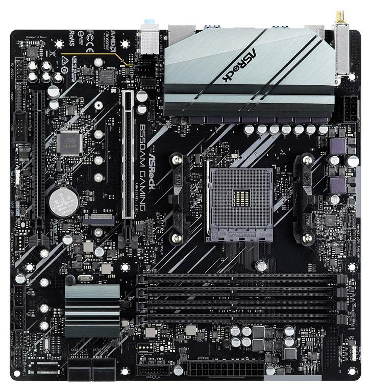 Первое изображение ASRock B550AM Gaming