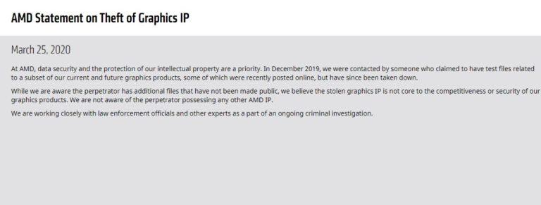 Исходный код и результаты тестов графической архитектуры Navi украден с серверов AMD