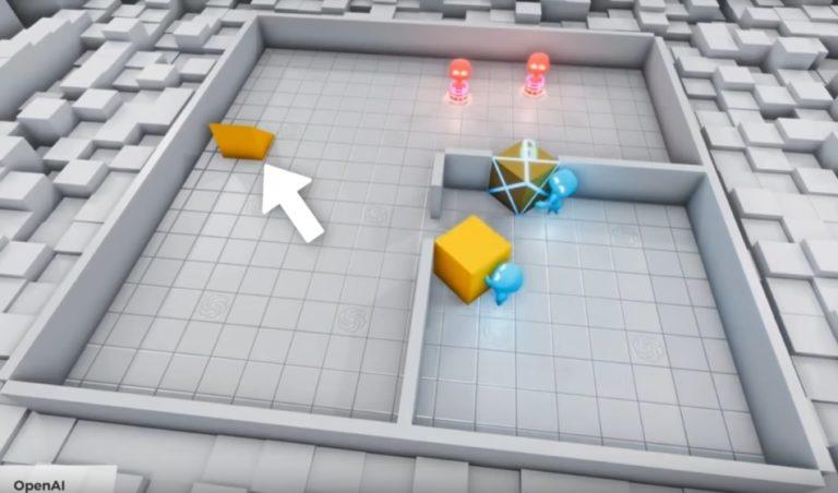 Возможности самообучения искусственного интеллекта на примере игры в прятки