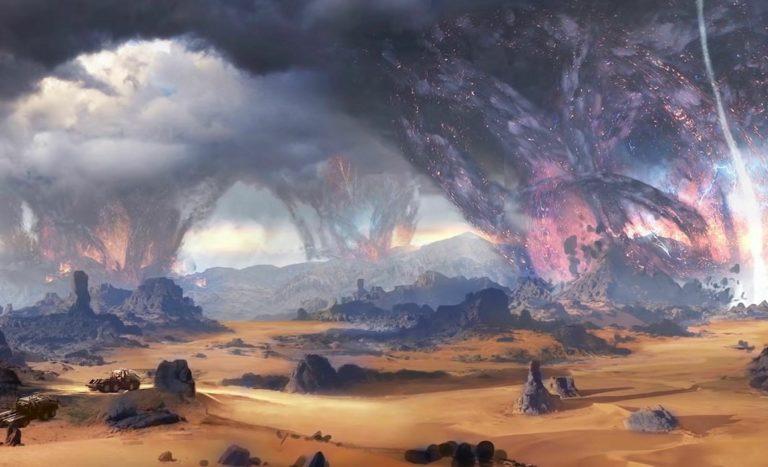 Трейлеры игры Outriders: загадочный мир далёкой планеты