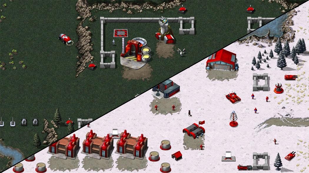 Первый скриншот готовящегося переиздания классического Red Alert