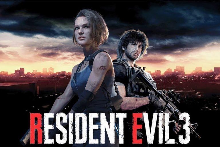 13 минут игрового видео Resident Evel 3 Remake