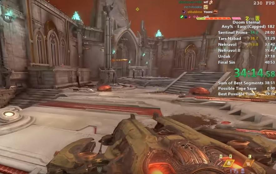 Спидраннер прошёл Doom Eternal за 40 минут