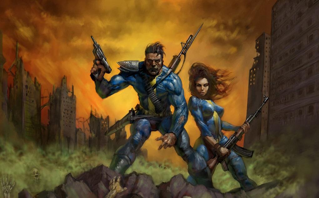Как выглядел бы 1й Fallout, появись он сразу в 3D