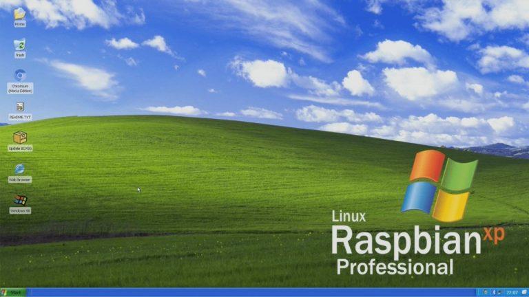 Linux Raspbian XP Professional – Линукс в стиле Windows XP