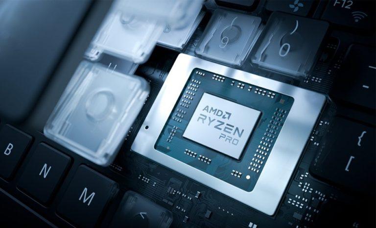 AMD представила Pro версии мобильных Ryzen4000