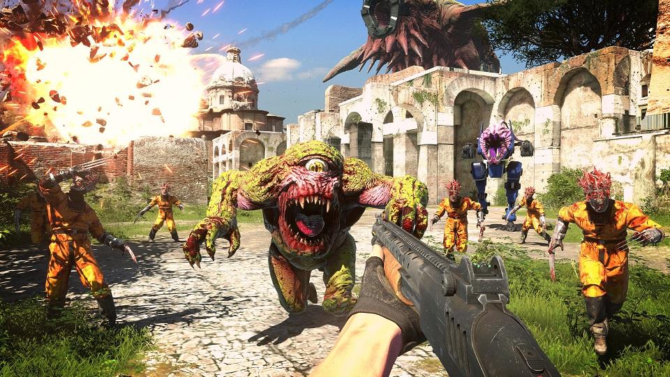 Представлена игра Serious Sam 4. Она выйдет этим летом
