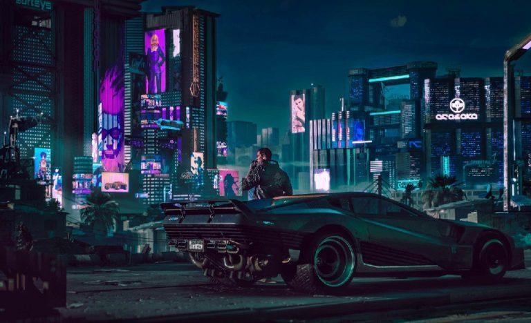 Авторы Cyberpunk2077 выложили видеоролик игры с активно применяемой трассировкой лучей