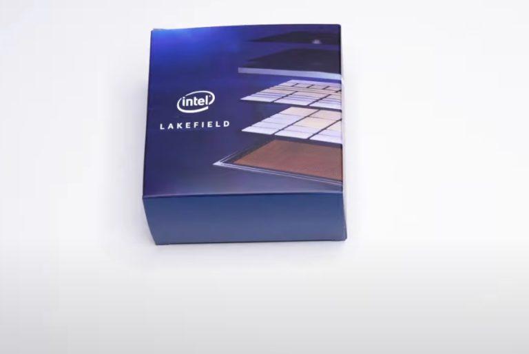 Intel представила 10нм гибридные процессорные модули Lakefield