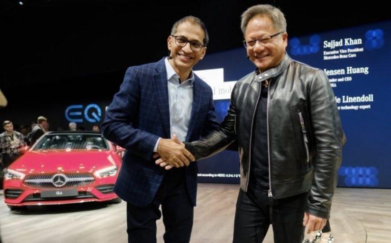 Mercedes-Benz и Nvidia создадут электронную начинку будущих авто
