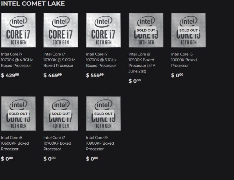 Интернет-магазин Silicon Lottery начал продажи Core i7-10700K с гарантированным разгоном до 5,1Ггц