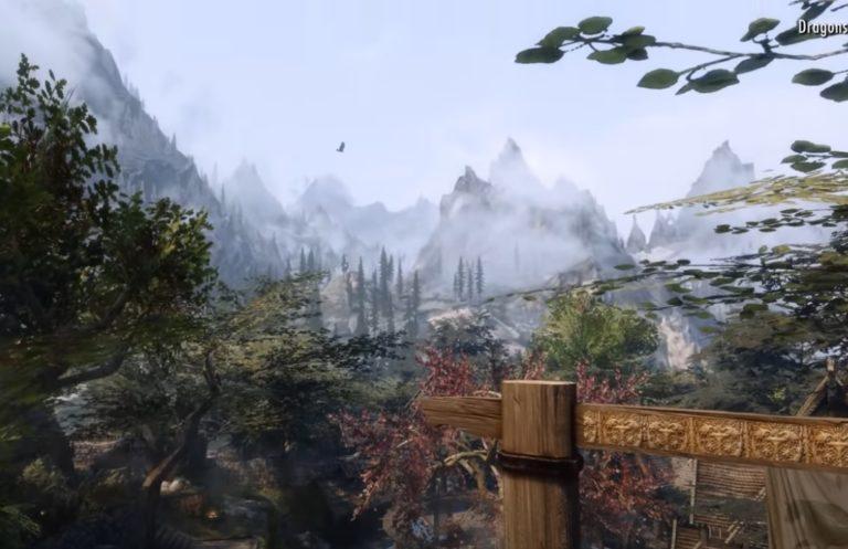 Фанат наложил более 300 графических модов на The Elder Scrolls V: Skyrim и получил практически новую игру