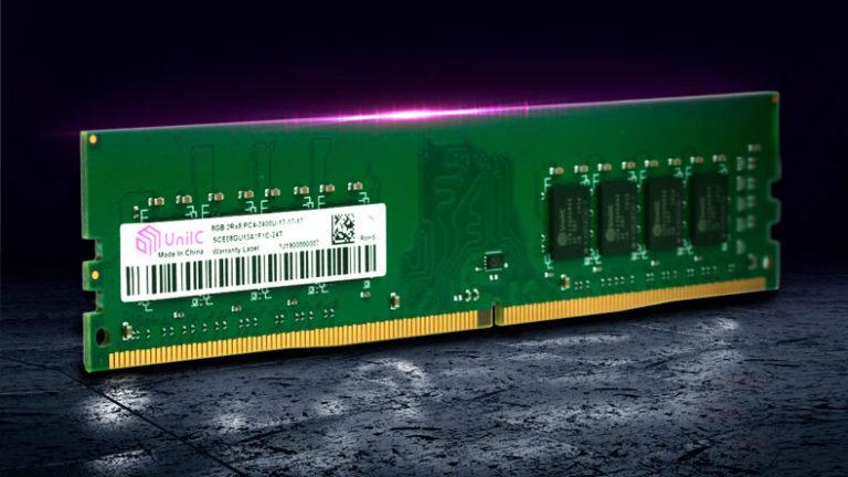 Китай освоил полный цикл производства памяти DDR4