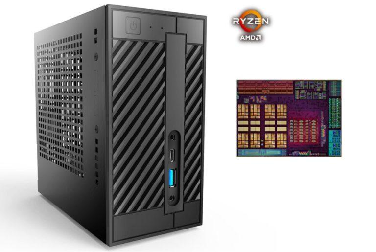 ASRock готовит компактную систему с набором логики X300 и процессором Ryzen 7 4700G