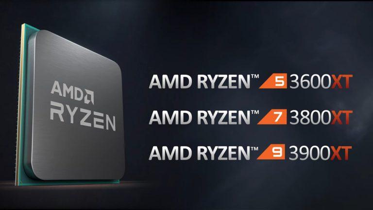 AMD представила процессоры Ryzen 3000XT, чипсеты A520 и B550