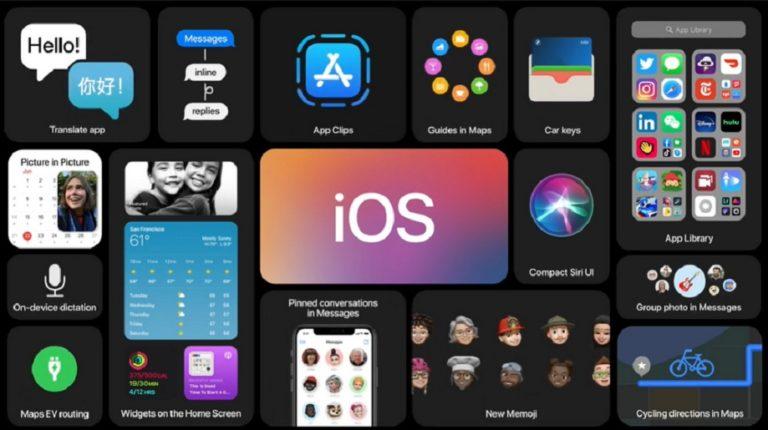 Apple представила операционную систему iOS14