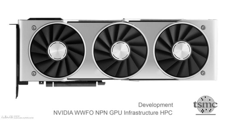 Возможный внешний вид Nvidia GeForce RTX3080Ti