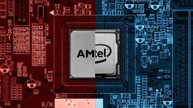 В Европе продажи процессоров AMD и Intel составили 5 к 1