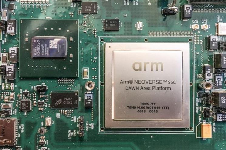 Nvidia может купить разработчика ARM архитектур