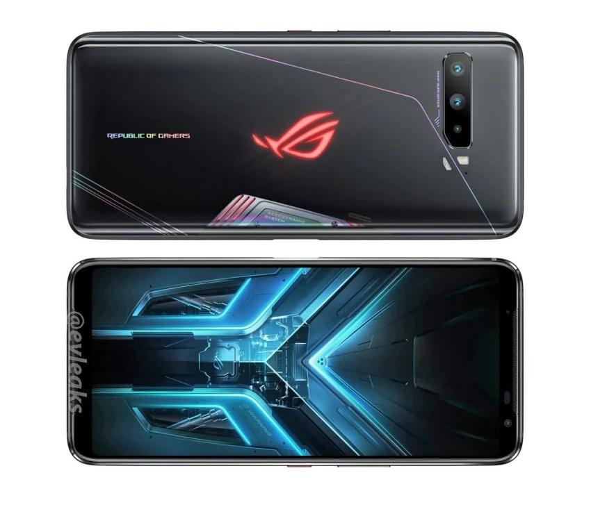 Раскрыт дизайн Asus Rog Phone 3