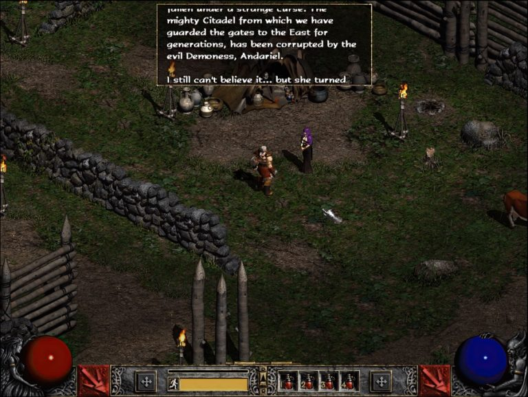 Качество графики Diablo II улучшили с помощью нейросети