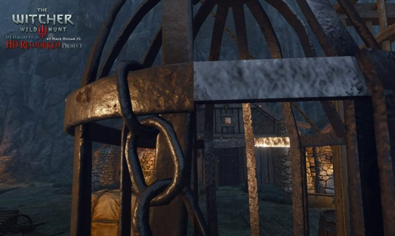 В сентябре выйдет большой графический мод для игры Ведьмак 3