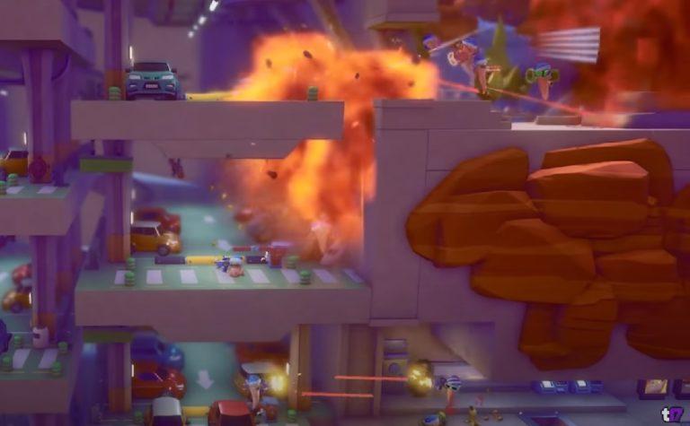 Анонсирована новая часть Worms — Rumble с «Королевской битвой»