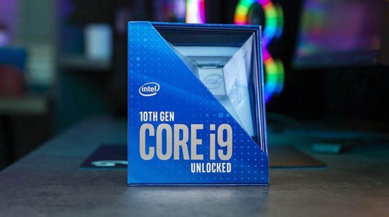 Intel выпустит Core i9-10910 специально для Apple