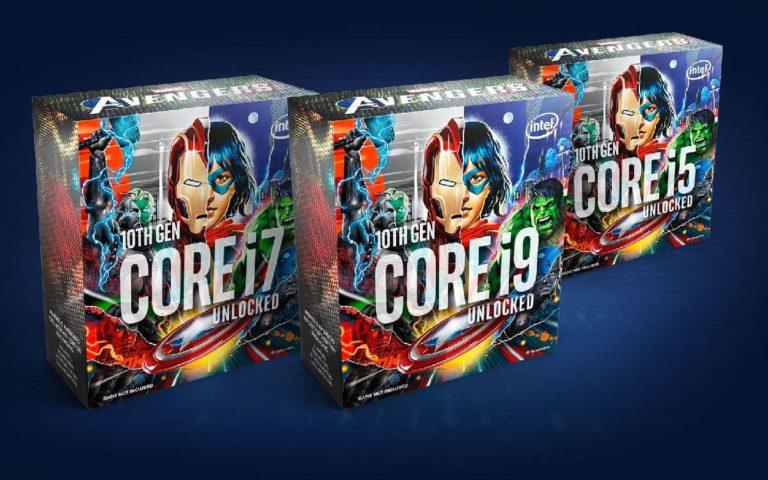 Покупатели процессоров Intel Core Avengers Edition не получат саму игру