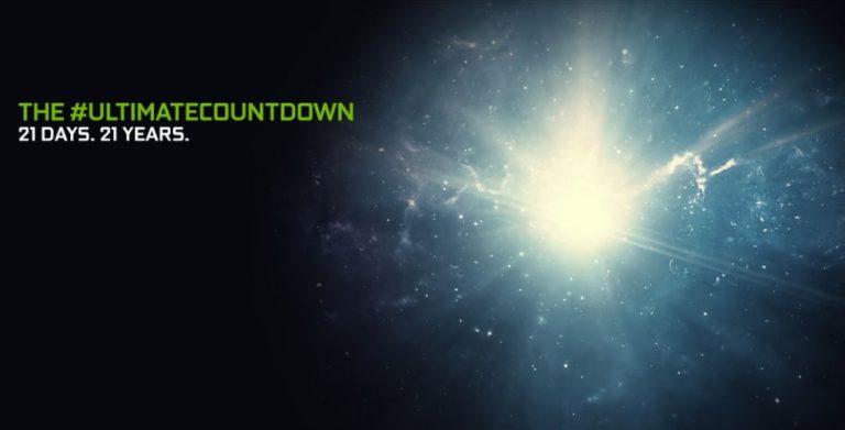 Nvidia запустила обратный отсчёт до премьеры видеокарт GeForce RTX3000