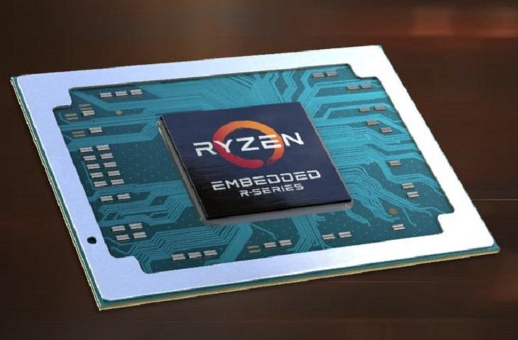AMD готовит к выпуску встраиваемые процессоры Ryzen Embedded V2000 на ядре Zen2