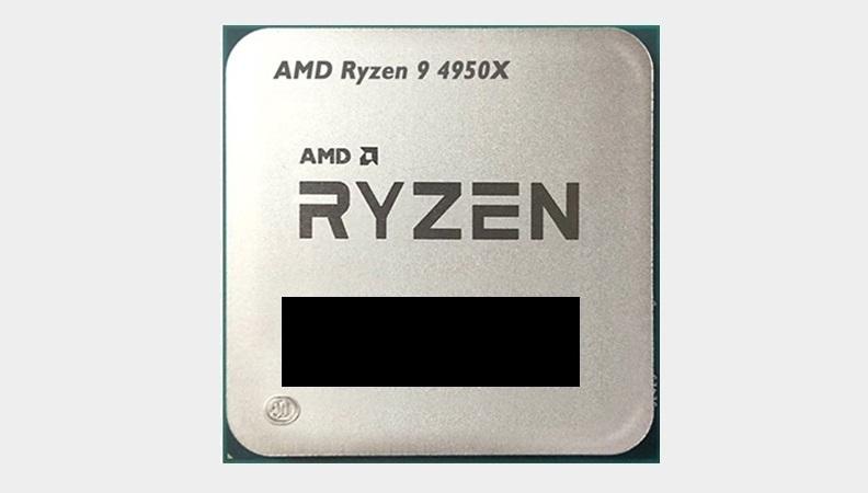 AMD Ryzen 9 4950X получит максимальную частоту 4,8Ггц