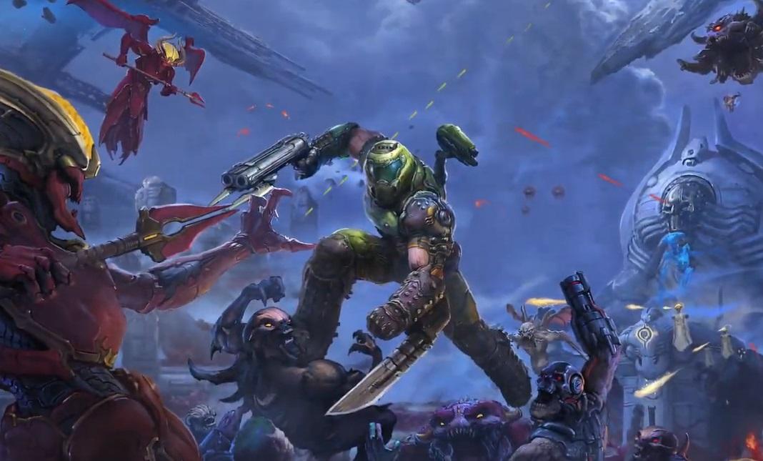 iD Software представила сюжетный трейлер дополнения к Doom Eternal