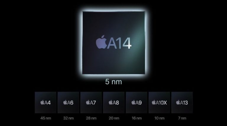 Процессор Apple A14 Bionic оказался не столь быстрым как ожидалось