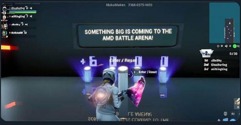 Пасхалка в Fortnite предсказывает скорый приход видеокарт Radeon RX6000
