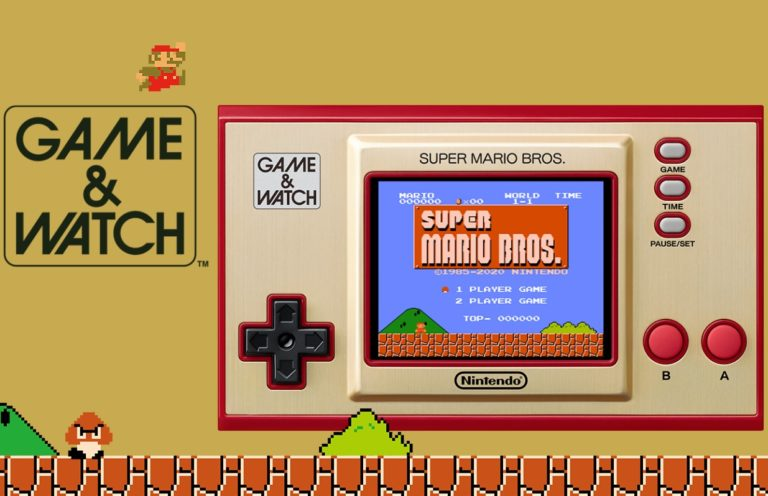 Nintendo переиздаст ретроконсоль Game & Watch с залитой Super Mario