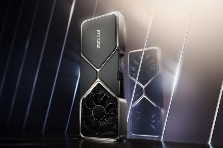 Nvidia представила линейку видеокарт GeForce RTX3000