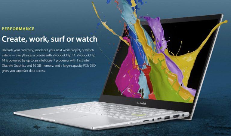 Появилось сразу два ноутбука оснащённые дискретной видеокартой Intel Xe