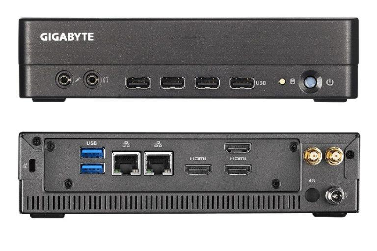 Gigabyte анонсировала мини-ПК на процессорах AMD Ryzen Embedded
