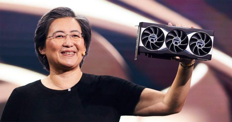AMD представила видеокарты Radeon RX6000