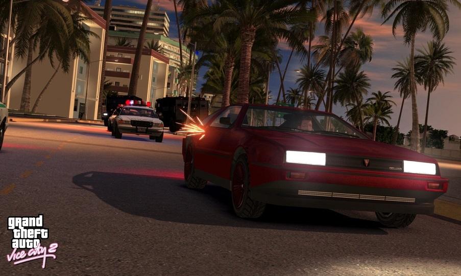 Геймплей ролик фанатского ремейка GTA: Vice City на движке GTA IV